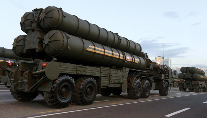 S-400 Air Defence System From Russia