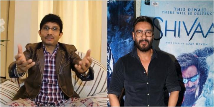 Ajay Devgn and KRK