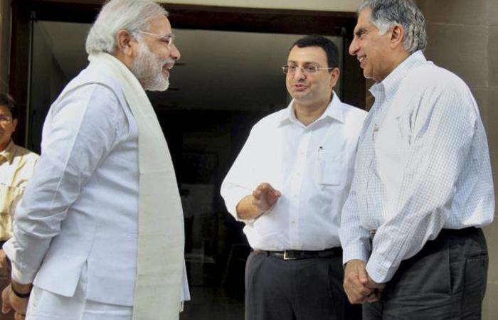 Rata Tata, Cyrus Mistry Met Modi