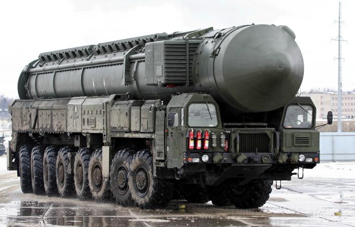 Representational image, Topol Missile