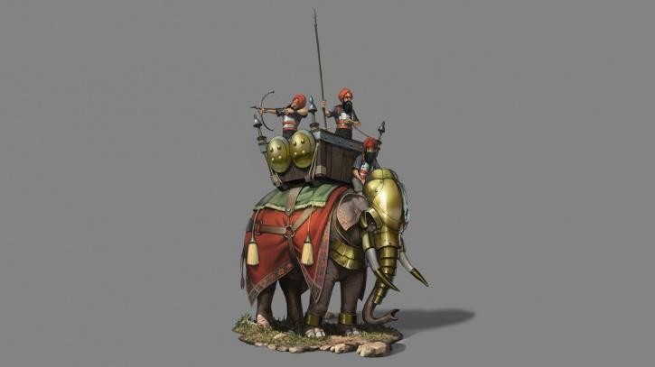 The elephant varu war unit