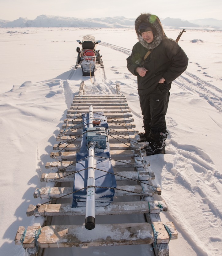 Two-thirds of Inuit reported feeling frightened when moving over seemingly thin ice