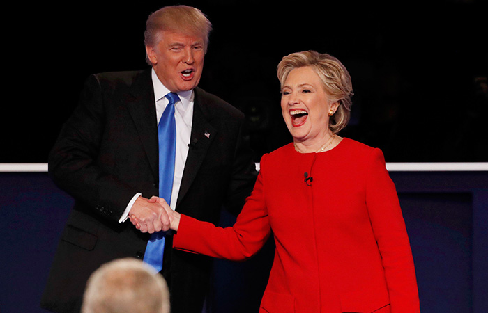 Donal Trump and Hillary Clinton
