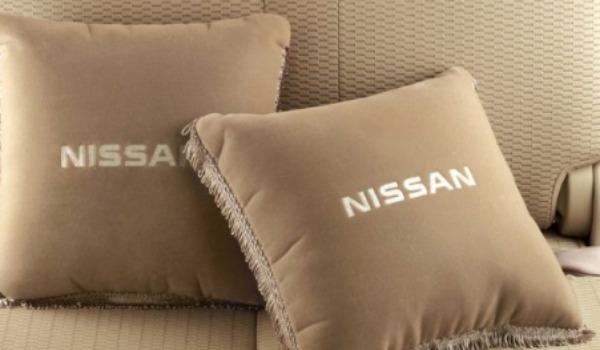 Nissan cushions