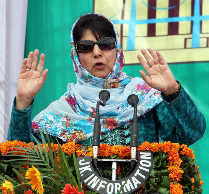 Separatists Are Using Kashmiri Kids As Shields In Violent Protests, Says Mehbooba Mufti