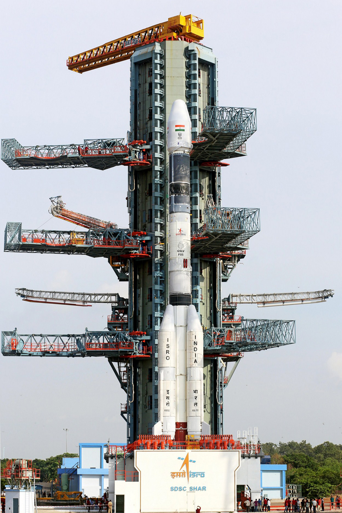 ISRO Starts Countdown For GSLV-F05 Launch