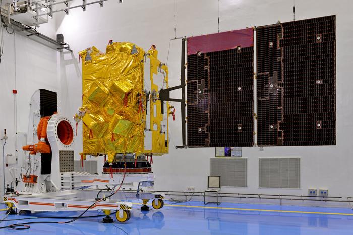 ISRO Releases Image Taken By INSAT-3DR