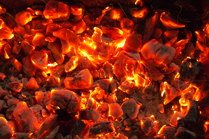 Chhattisgarh cops walk on blazing coal to debunk myths and superstition