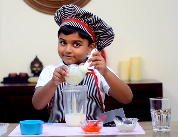 6-Year-Old Chef From Kochi Cooks