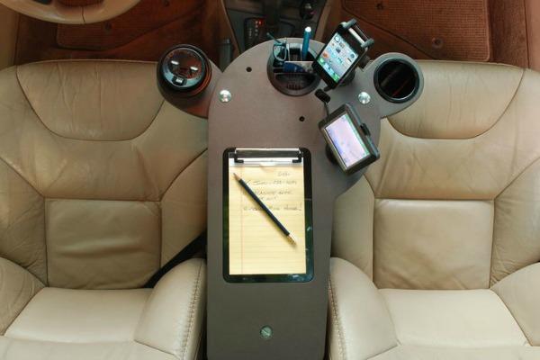 Office in car