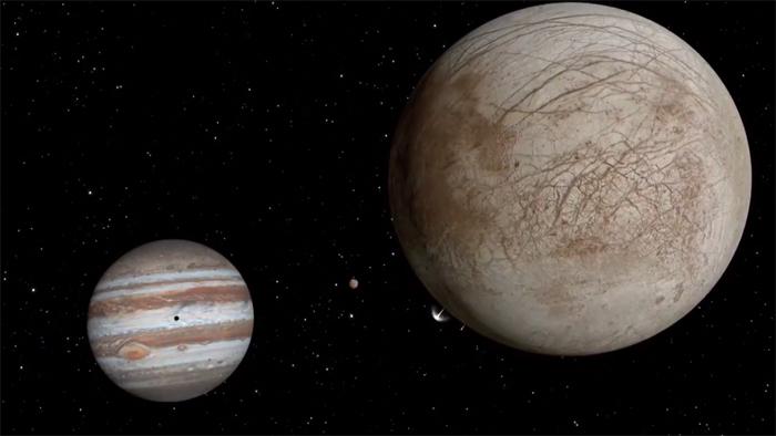 NASA's Hubble Telescope spots Possible Water Plumes On Jupiter's Moon Europa