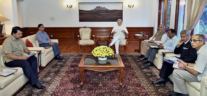 Narendra Modi at Meeting