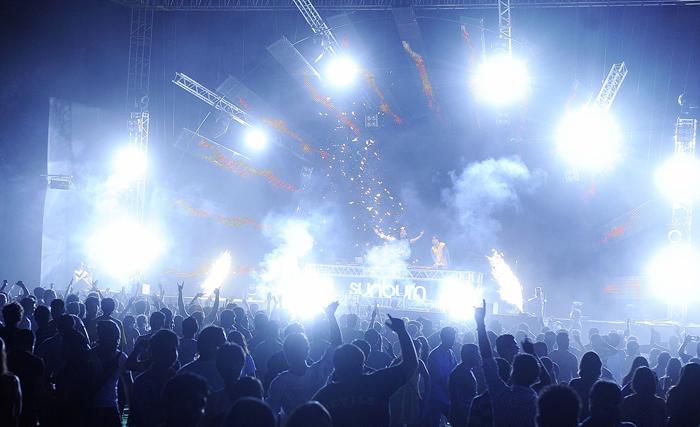 Sunburn Goa Music Festival