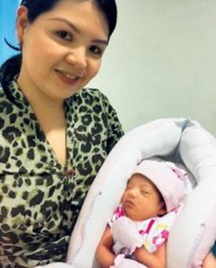 Baby Born Mid-Air Christened