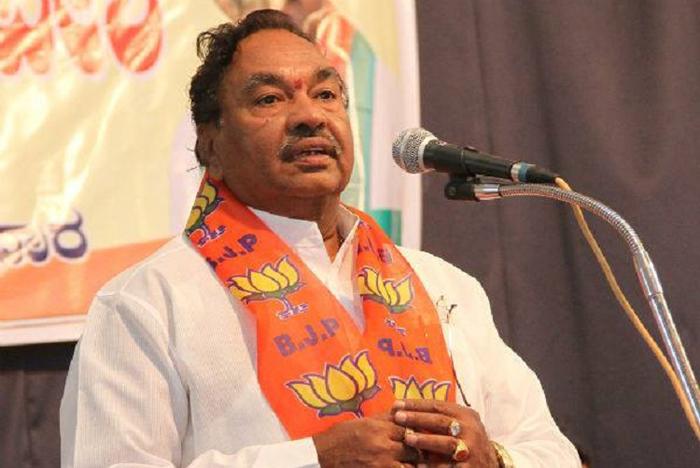 BJP opposition leader K S Eshwarappa