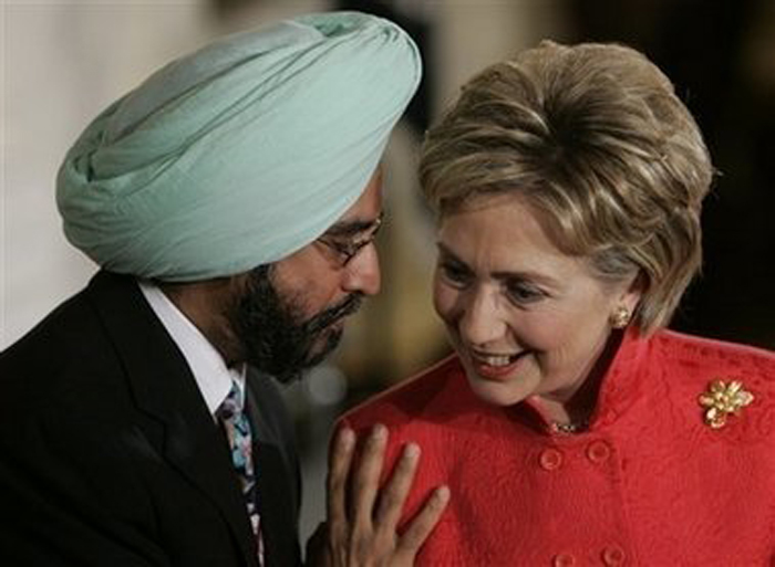 Hillary Clinton (D-Punjab)