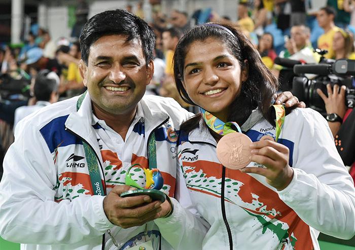 Kuldeep Singh and Sakshi Malik