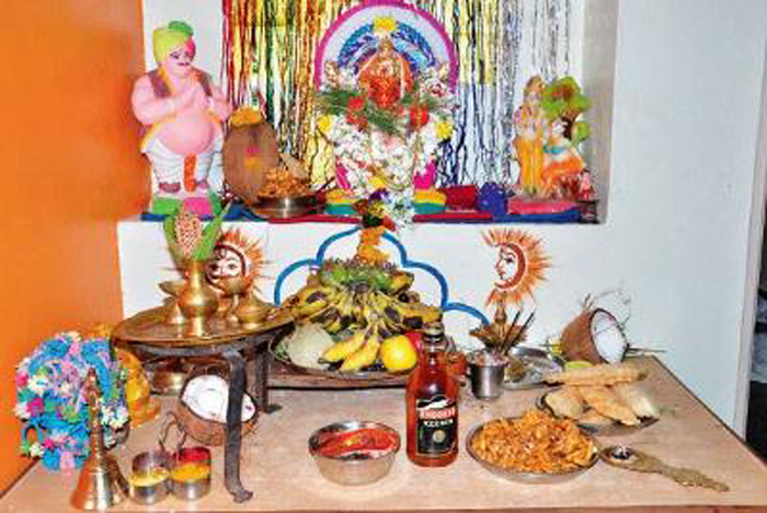 Meat Is Right, For These Ganesha Worshippers