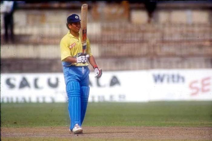 The Day Sachin Tendulkar Punished Australia And Scored His First ODI Ton