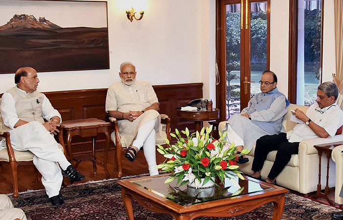 Meeting After Uri Attack