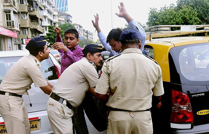 High Alert on Mumbai