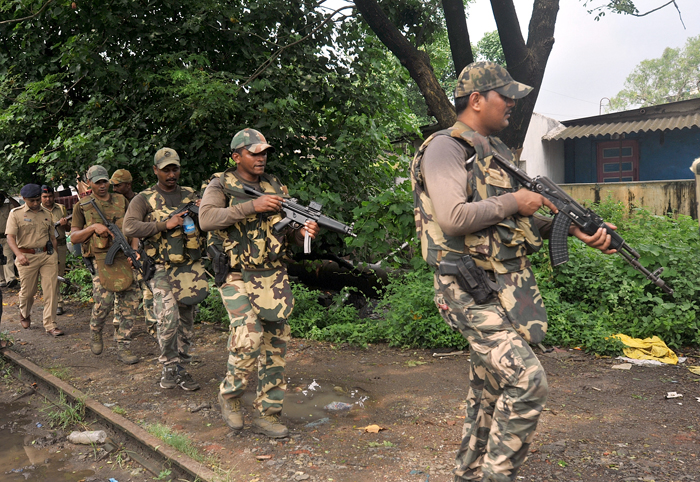 Combing Ops In Raigad End But Mystery Continues Over 'Masked Men'