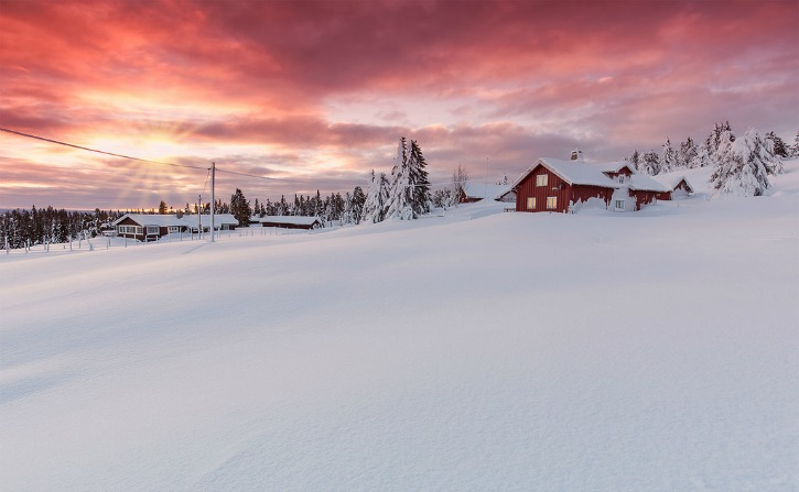 Sjusjoen in Lillehammer, Norway
