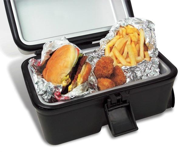 Portable food heater