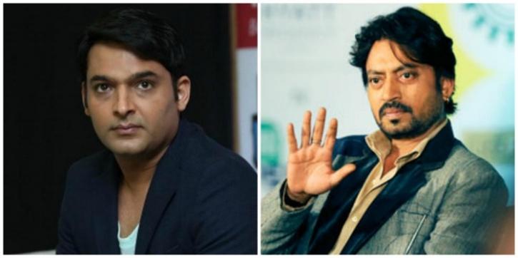 Irrfan Khan and Kapil Sharma