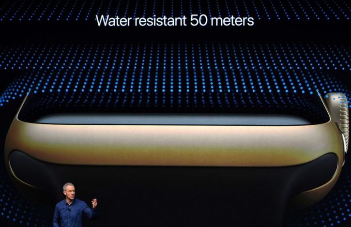 50 meters apple watch