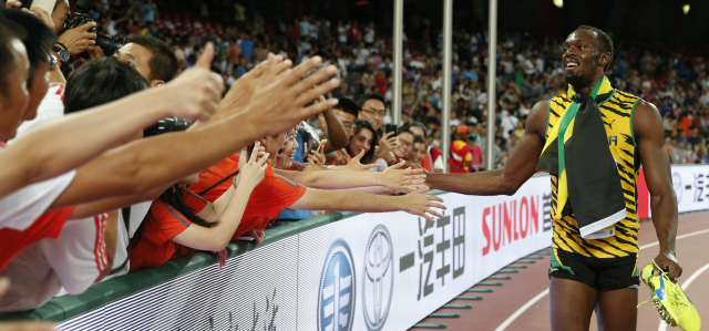 Bolt with fans