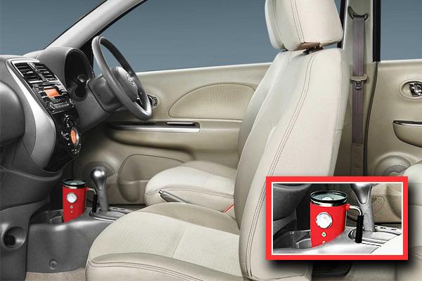 Nissan travel mug