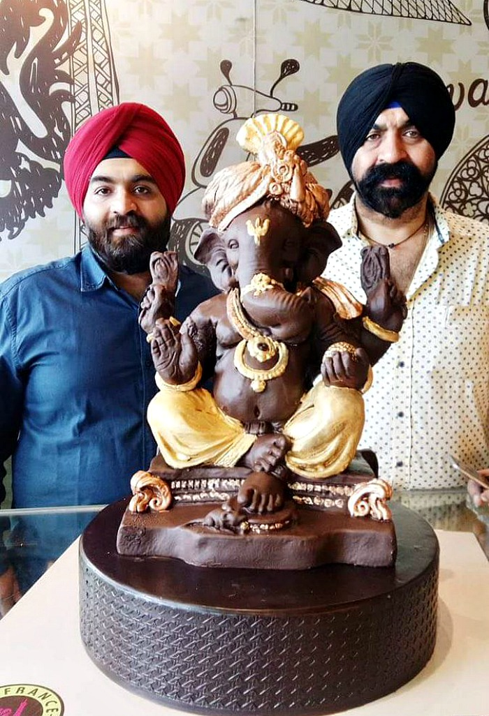 Chocolate Ganesha