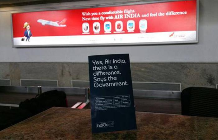 Air India, Indigo