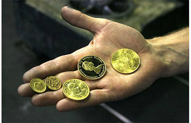 gold canadian coins