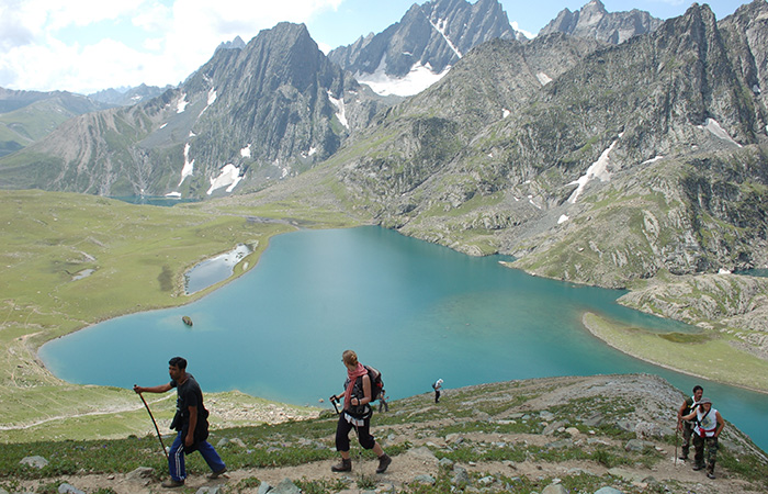 Great Lakes Trek, Jammu and Kashmir