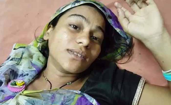 pregnant Dalit woman