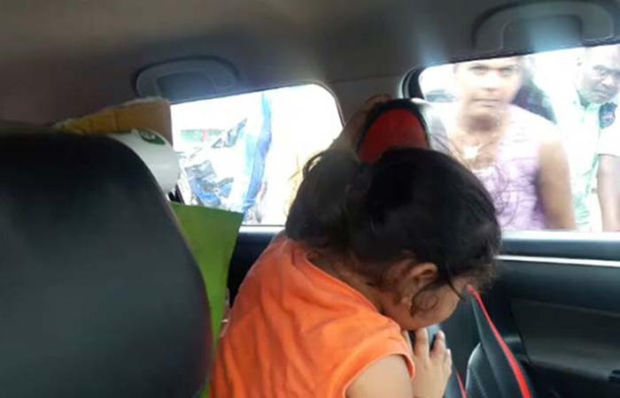 Girl Locked in Car