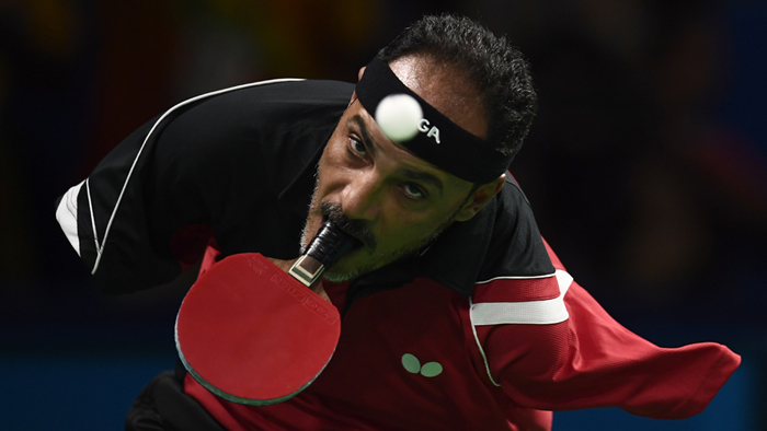 Egypt's Armless TT champion  is making heads turn at Paralympics