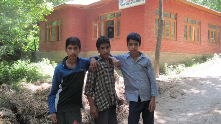 Boys after exam