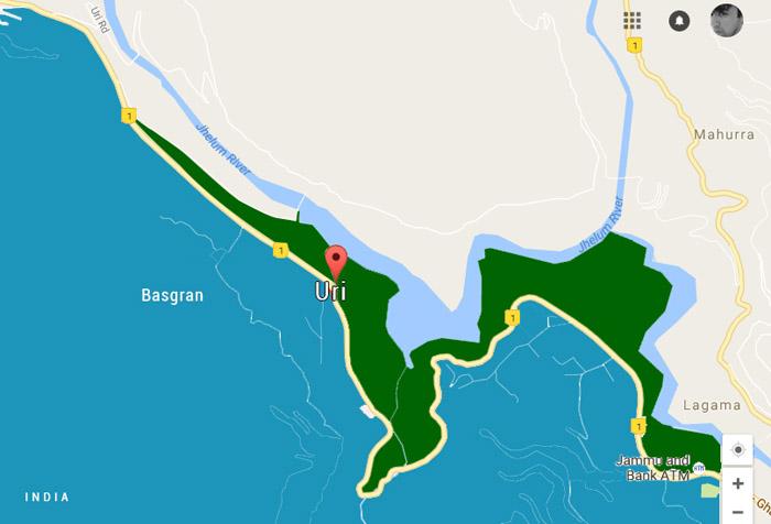 Uri Map