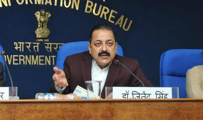 Personnel, Public Grievances and Pensions Jitendra Singh