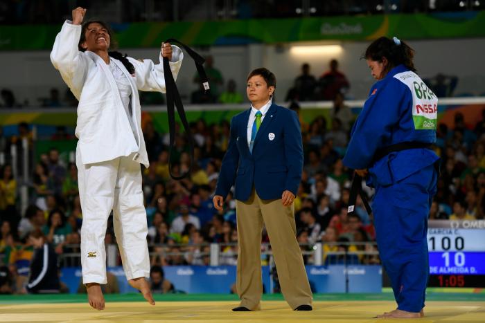 Judo Paralympians