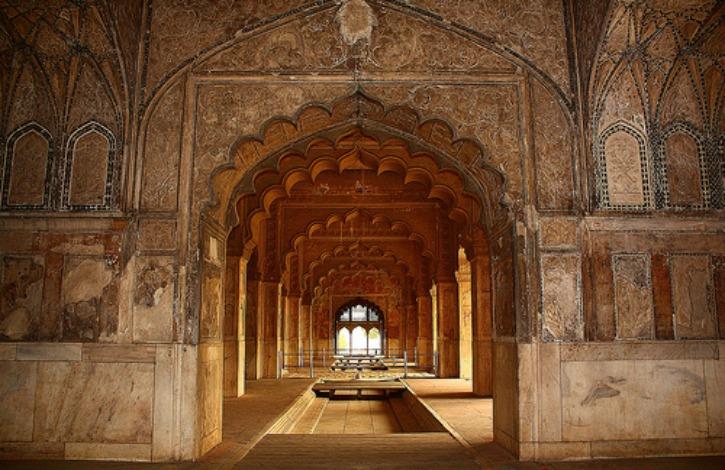 Khas Mahal inside the Red Fort