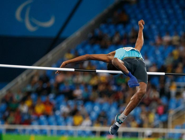 Mariyappan jump