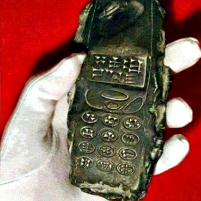2800-year-old phone