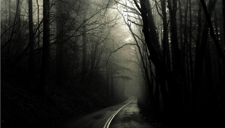 A vanishing road