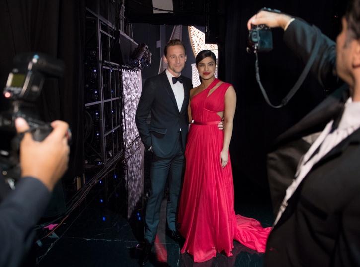 Priyanka Chopra Tom Hiddleston