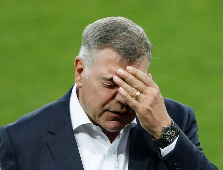 England Football Team Manager Sam Allardyce Sacked After Just One Game In-Charge, After Telegraph Sting Operation Catches Him Accepting 400,000 Pounds For Advice On Bypassing Transfer Laws