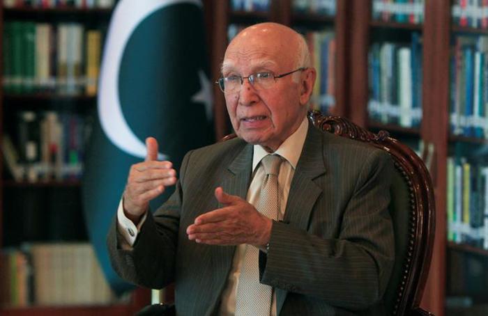 Foreign Affairs Sartaj Aziz